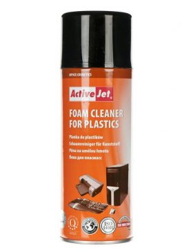 Spuma de curatare pentru materiale plastice