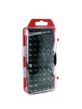 Set capete surubelnita, 66 piese, atasament magnetic, cutie depozitare