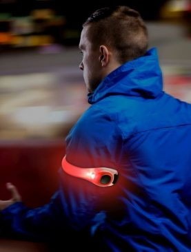 Banda luminoasa LED de siguranta, reglabila pentru brat/picior