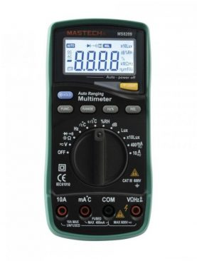 Multimetru digital profesional 5 in 1, 14 functii, sonda temperatura