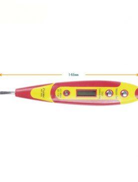 Tester digital de tensiune, ecran LCD 0.7 inch, iluminat LED, ABS